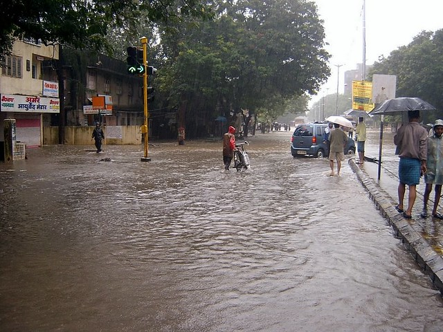 Heavy rains revisist Bombay....
