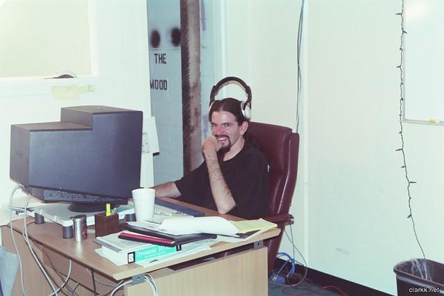 old office job
