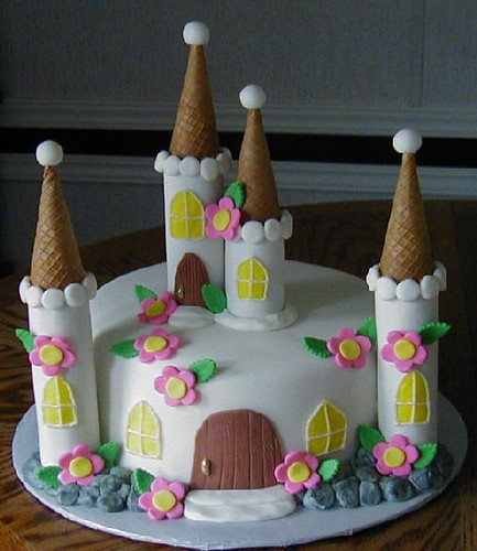 Debbie Brown Castle Cake