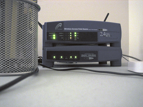 Wireless Router and Cable Modem