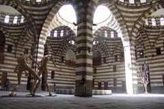 Modern art exhibition, Damascus
