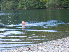 Swimming in Buttermere