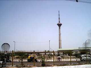 Image of TV Tower Pitampura. metro delhi tvtower pitampura