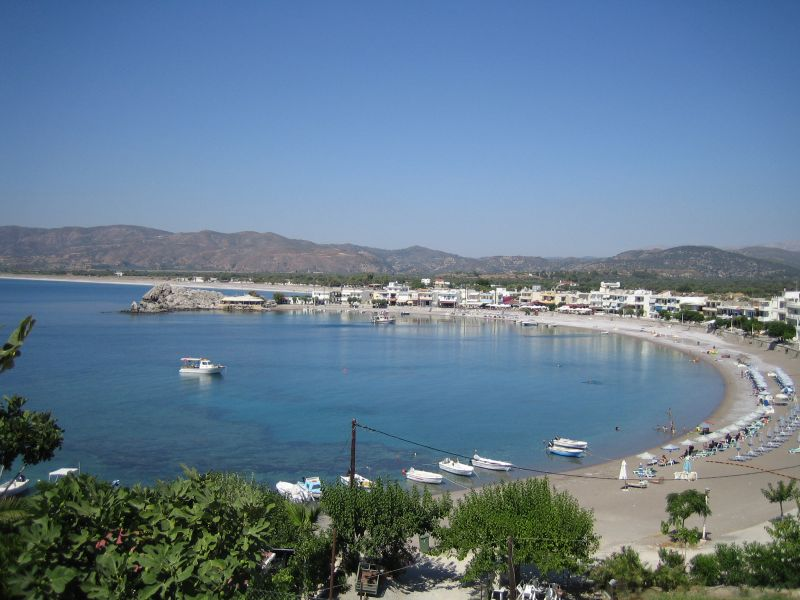 Haraki Bay, Rhodes, Greece