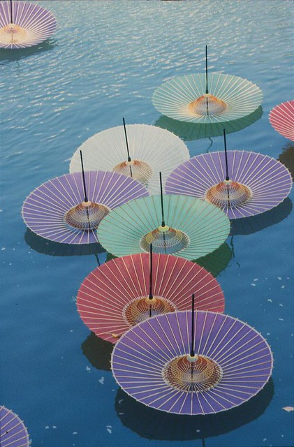 hiroshima umbrellas