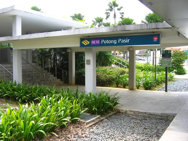 Potong Pasir MRT Station