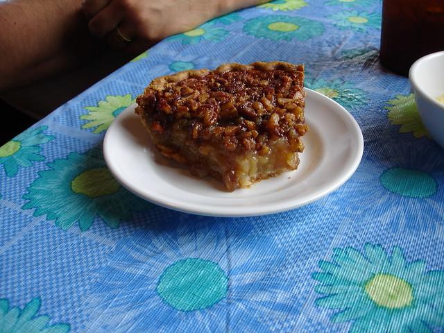 Pecan Pie at Leatha's Bar-B-Que Inn, Hattiesburg MS
