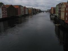 Casas sobre el Nidelven (Trondheim)