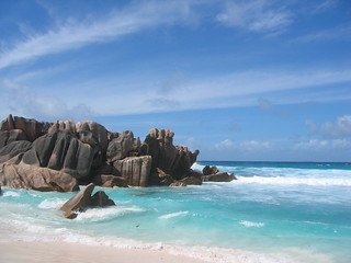 Beach View - La Digue - Seychelles