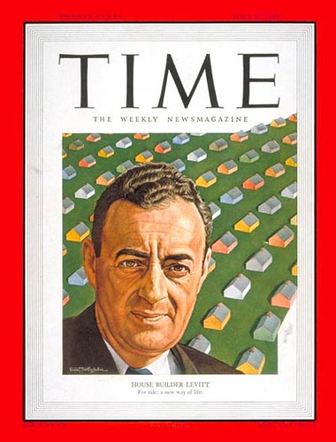 William Levitt on Time Magazine Cover
