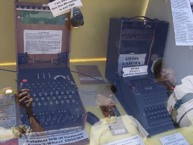Enigma machines