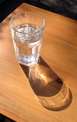 Glass of water by Sparrows' Friend