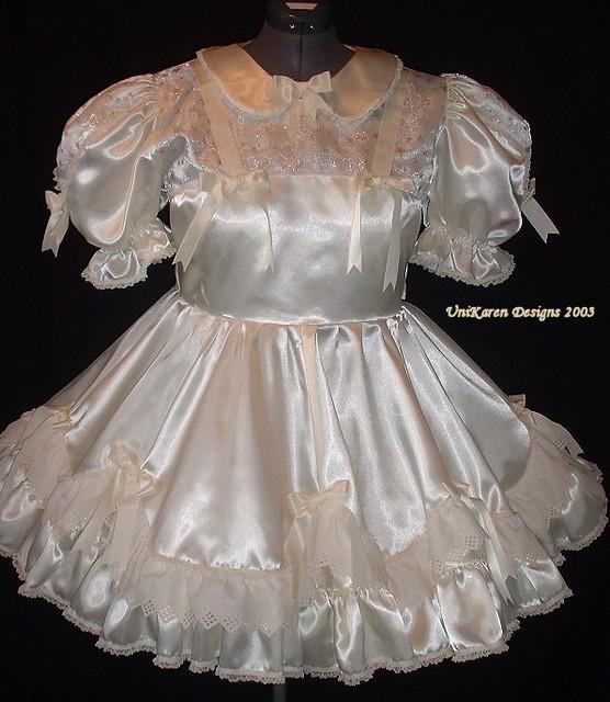 Taffeta Sissy Dress