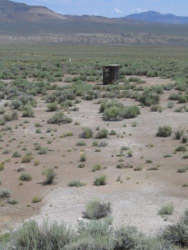 nevada nuclear bomb clui centerforlanduseinterpretation projectfaultless centralnevadatestsite