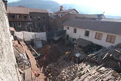 demolition(0.0), earthquake(0.0), slum(0.0), rubble(1.0), roof(1.0),