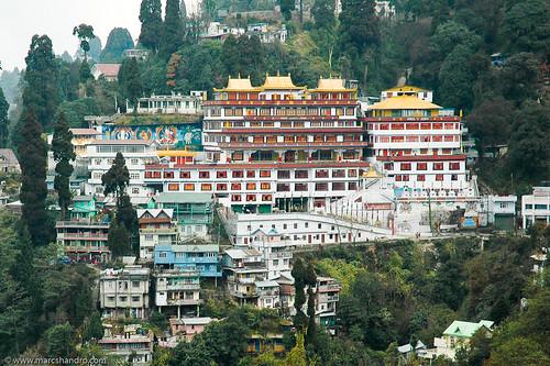 india buddhist monastery gompa druksangakgompa
