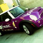 Yahoo! Music MINI from the front
