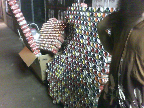 soda can art