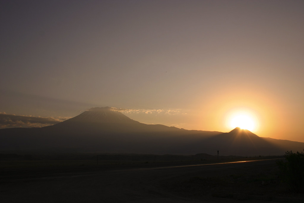 Sunrise of Mt. Ararat