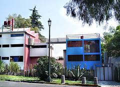 Casa de Diego Rivera y Frida del arquitecto O´gorman