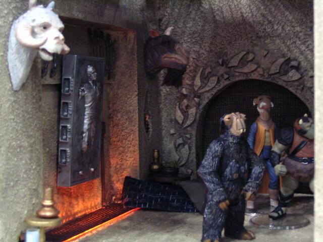 Jabba S Throne Room Battlefront