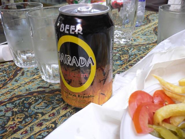 Barada: syrian beer