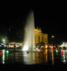 Sommerfest at night