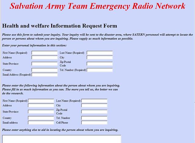 Amateur 8551 network radio information