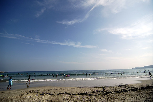 пляж Сидзуока