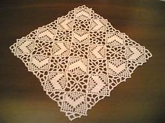 linens(0.0), tablecloth(0.0), lace(1.0), art(1.0), pattern(1.0), decor(1.0), textile(1.0), doily(1.0), crochet(1.0),