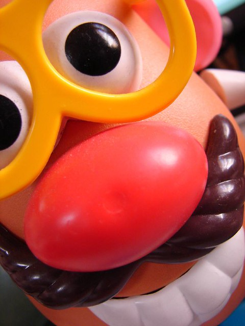Mr Potato Head from Flickr via Wylio