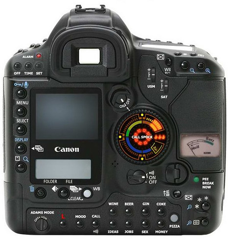 Canon 1D Mark 2 N Modified