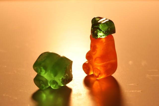 headless gummy bear