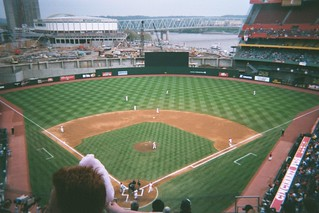 Before the Great American Ballpark, Cincinnati