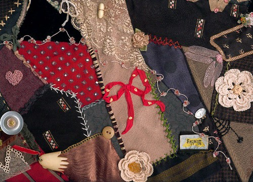 Crazy Quilt - Grandfather's Ties