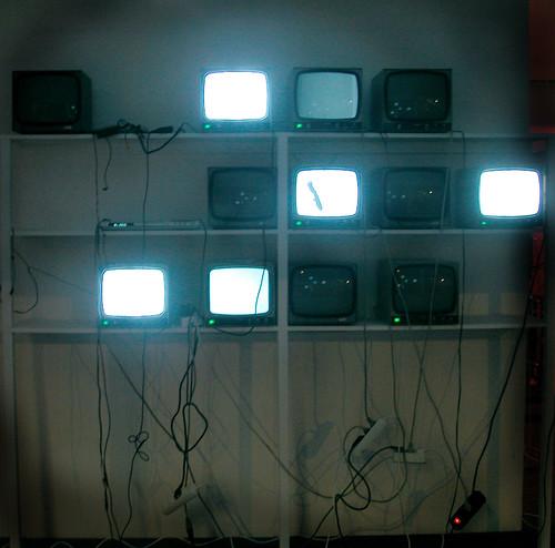 nothing on tv. Nadya Peek/Flickr.