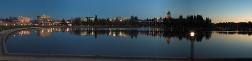 sunset washington dusk lakes capitol olympia akameus perfectpanoramas randykosek copyright2007randykosekphotography