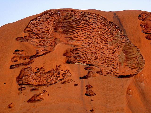 El cerebro del Uluru.. Parque Nacional Uluru-Kata Tjuta. Australia