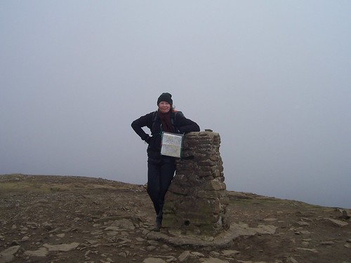 At the top of Pen-y-ghent