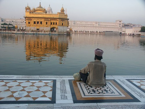 Meditando en Amritsar