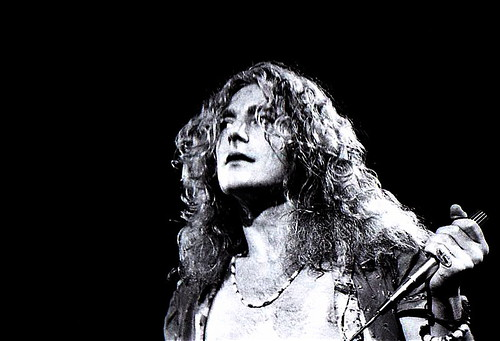 Robert Plant, Led Zeppelin. photo: Dina Regine