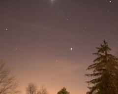 Night sky from my backyard