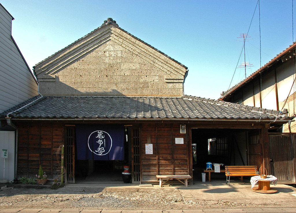 A textile shop in Makabe, Ibaraki