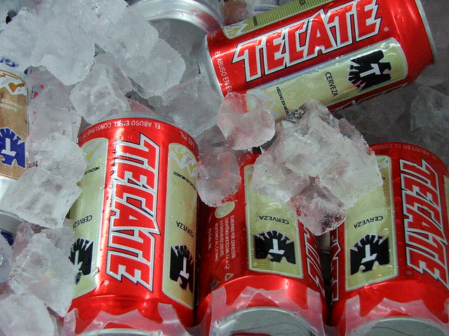 Photo:Cold Tecate By:w4lt3r