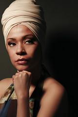 veil(0.0), hairstyle(0.0), cap(0.0), blond(0.0), face(1.0), model(1.0), portrait photography(1.0), clothing(1.0), skin(1.0), girl(1.0), head(1.0), hair(1.0), woman(1.0), fashion(1.0), female(1.0), photo shoot(1.0), lady(1.0), close-up(1.0), turban(1.0), beauty(1.0), portrait(1.0), black(1.0), eye(1.0), headgear(1.0),