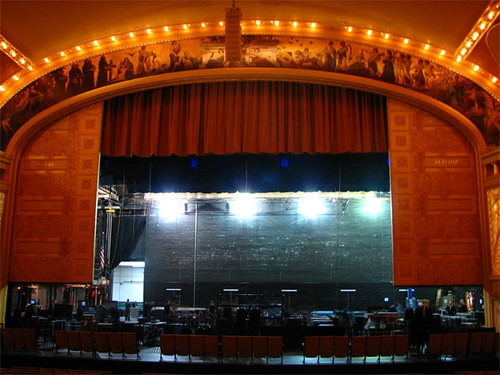 stage and proscenium arch
