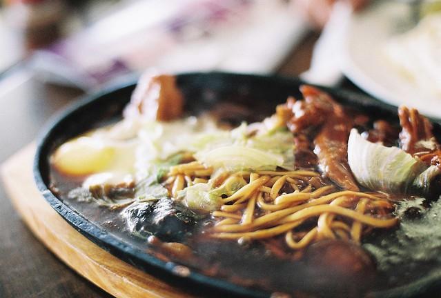 Sizzling Hotplate Noodle