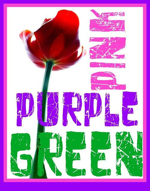 pinkpurplegreen