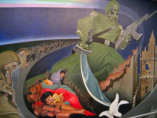 Denver International Airport mural