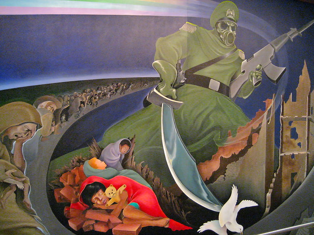 Australian antigen virus to be released and its link to for Mural in denver airport